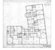 Planritning 3e våningen